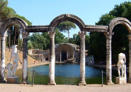 Villa Adriana, Tivoli.