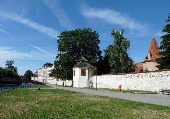 Route No 12 in České Budějovice, Czech Republic