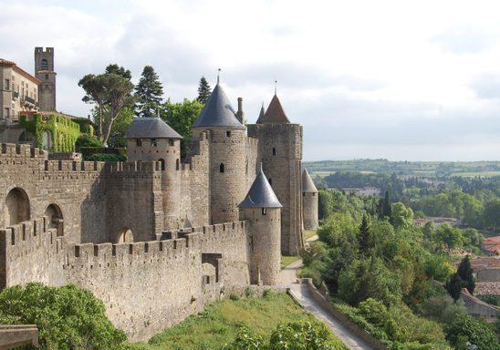 Carcassonne Castle.