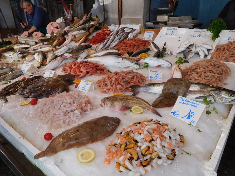 Seafood in Sicily