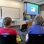 Lecture with Carleton alumna