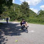 Mary, Intrepid cyclist