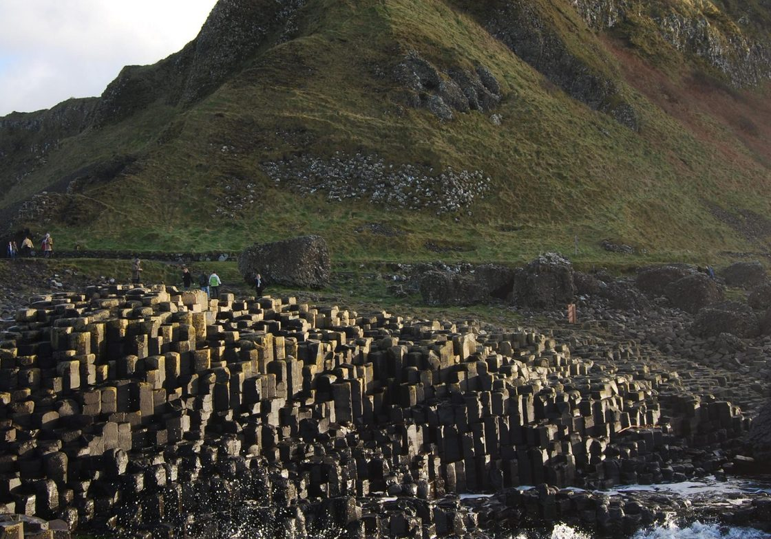 The Giant's Causeway, a UNESCO World Heritage site.