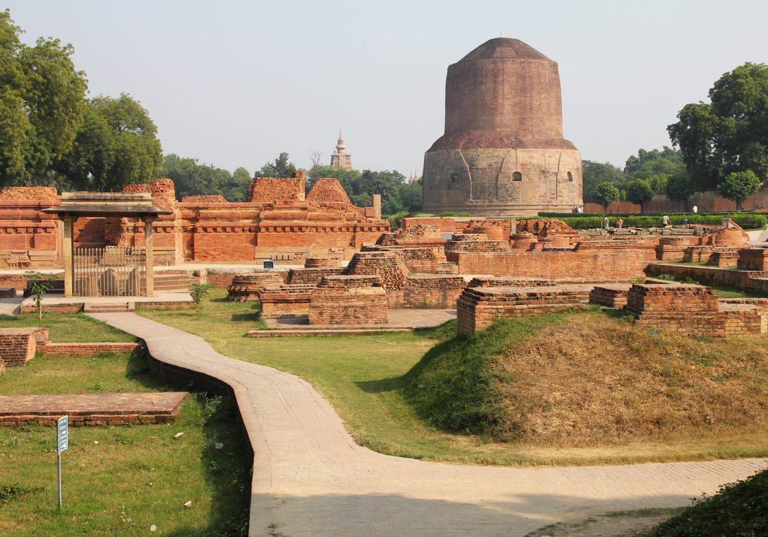 Dhamek monastery, Sarnath, India
