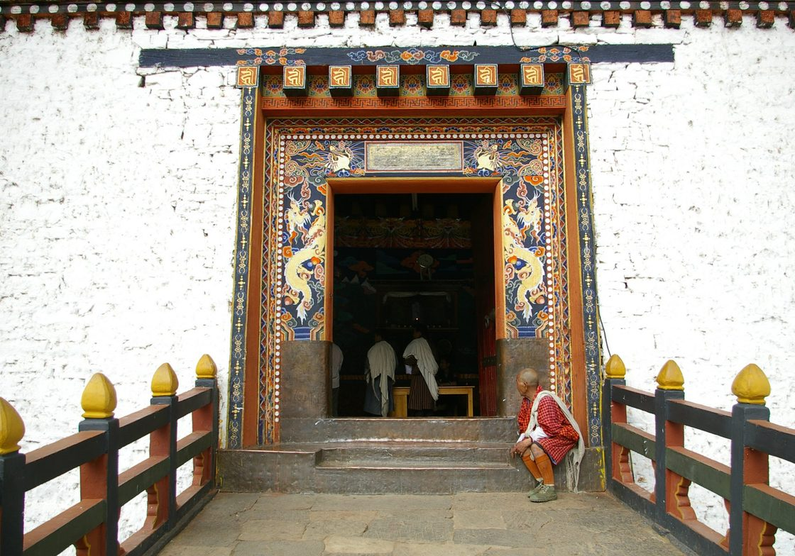 Buddhist traditions and monasteries are active throughout Bhutan