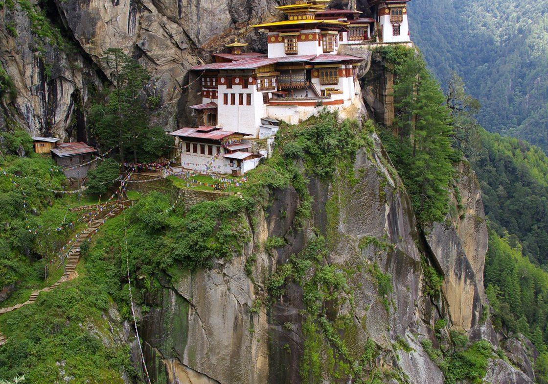"""Tiger's Nest,"" Paro, Bhutan"
