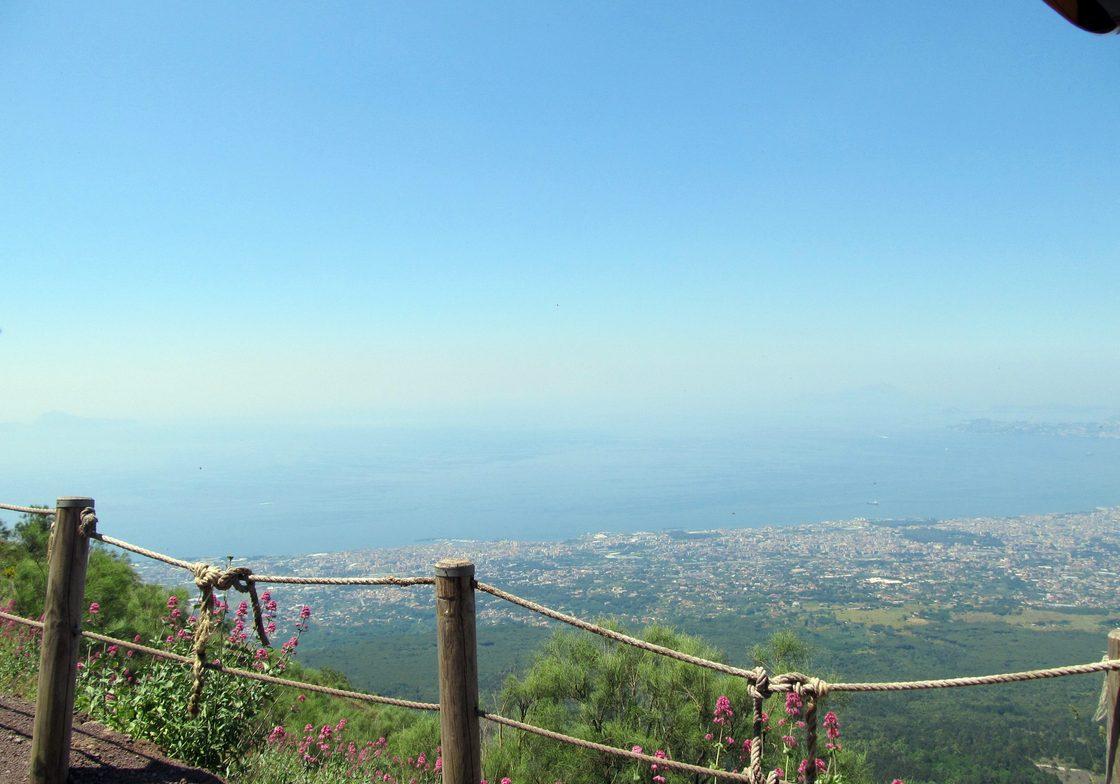 Mount Vesuvius National Park encompasses Italy's most famous volcano.