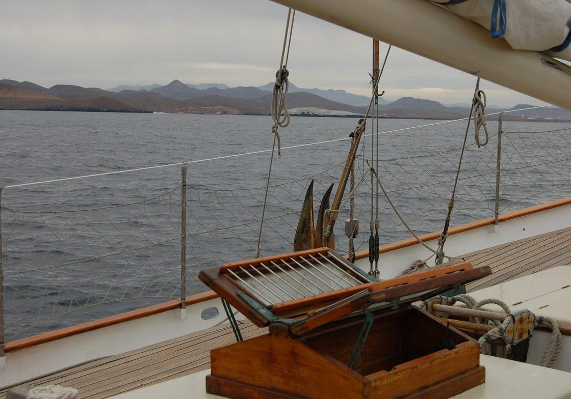 View from Baja Schooner