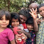 Children in Bodhgaya