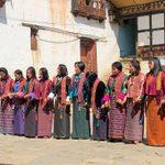 Women Dancing, Bhutan