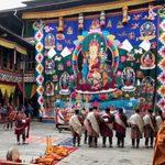 Thangka at Jakar Dzong
