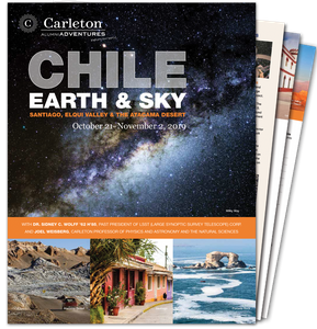 Chile: Earth and Sky Brochure