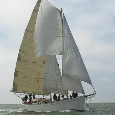 Seaward Under Sail
