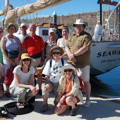Group Shot with Seaward