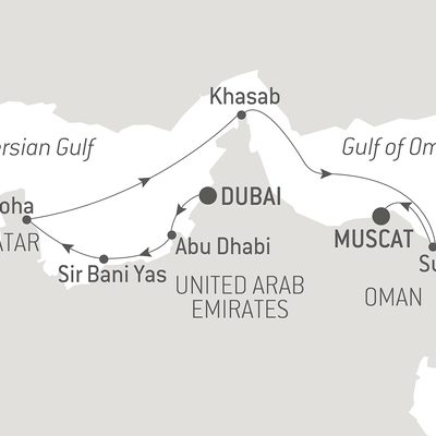 Treasure of the Arabian Gulf, travel with Alumni Adventures