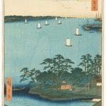 Ando Hiroshige, Shinagawa Susaki