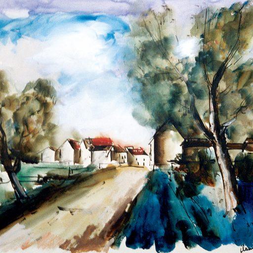 Maurice de Vlaminck, Road Approaching the Village
