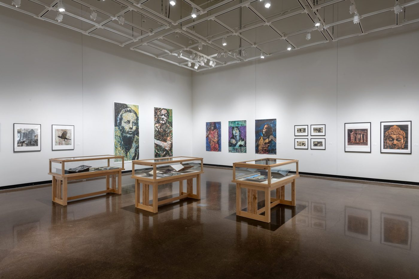 Chronologia exhibition in the Braucher Gallery