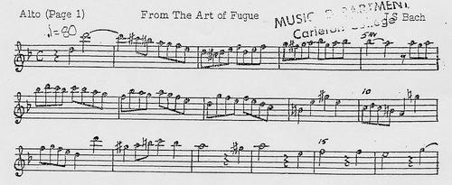 Saxophone Audition Info Music Carleton College
