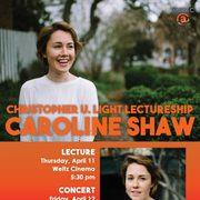 Caroline Shaw Poster