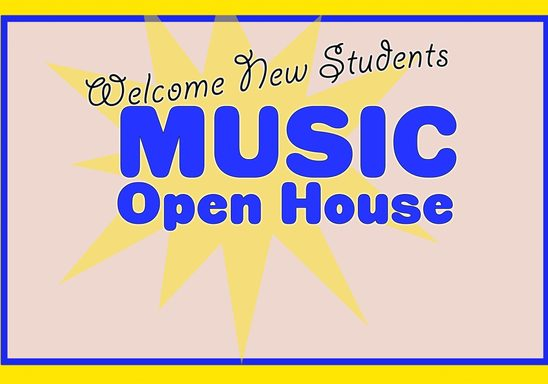 Music Dept Open House