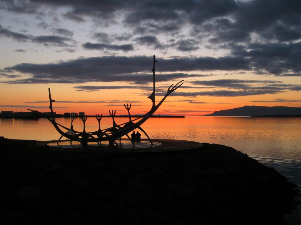 Midnight Sun in Reykjavík