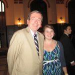 Prof. Roy Grow and Katie Kaemmer '11