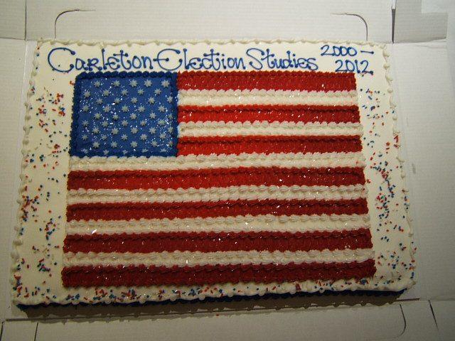 Election Studies cake
