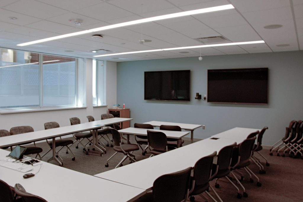 Olin 102 Faculty View