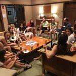 Senior Reception for SWiMS