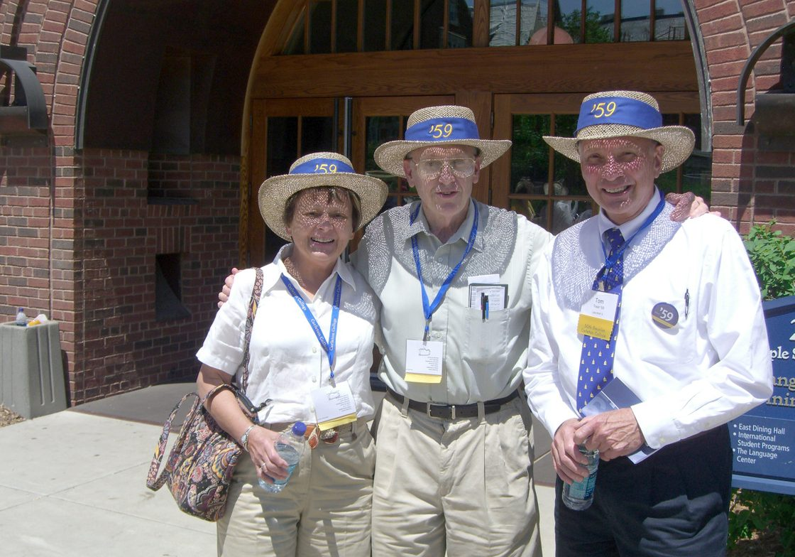 Photos taken by Gerald Meltzer '59 of the 50th Reunion.