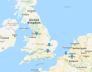 Map: Cambridge