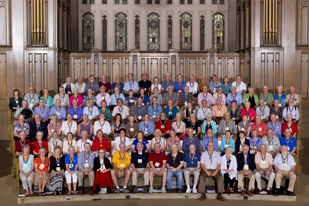 Class of 1963 at Reunion 2013, our 50th Reunion