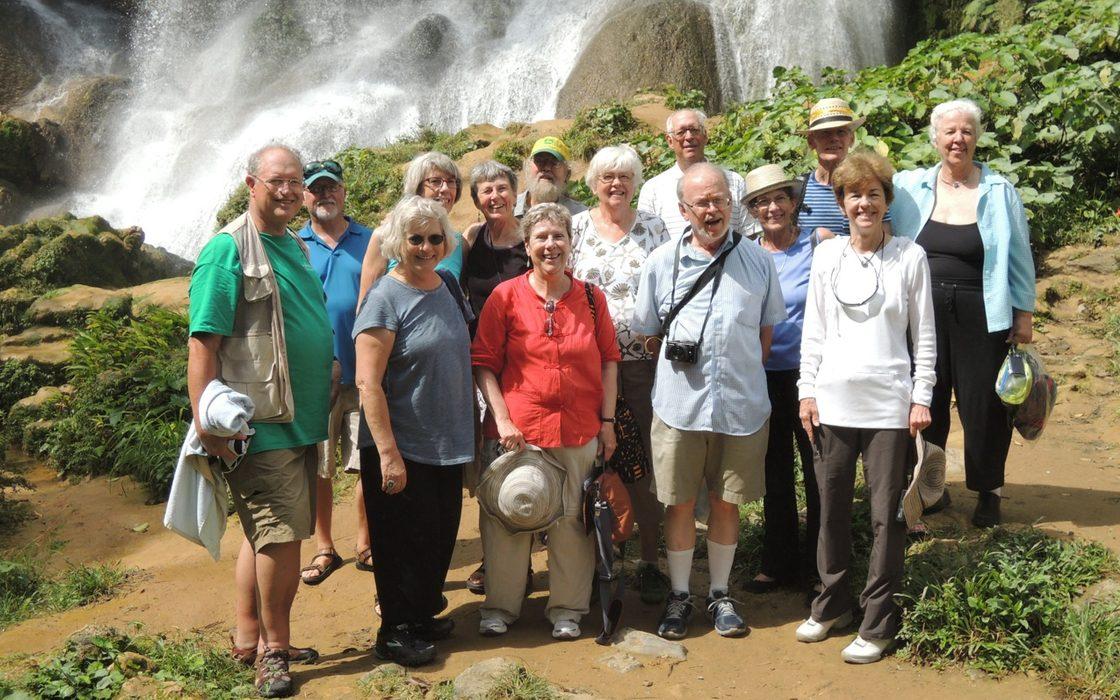 Group at El Nicho