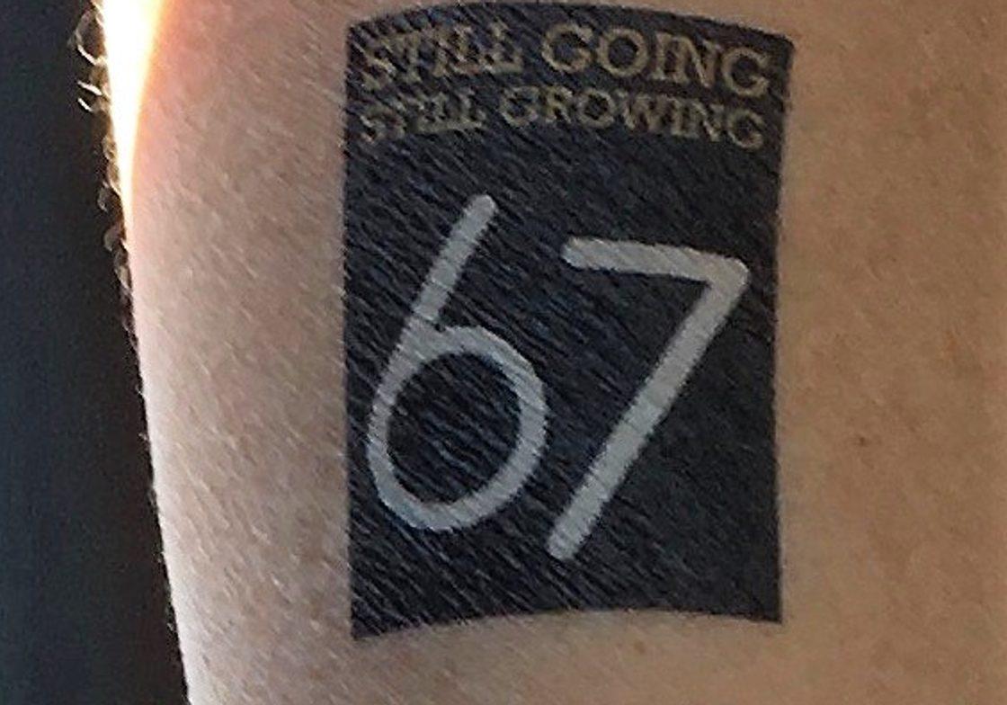 Tattoos too!