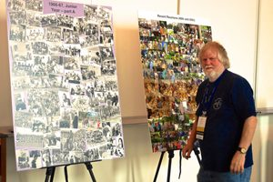 Tom Kenyon with Class of '68 Photo Archive