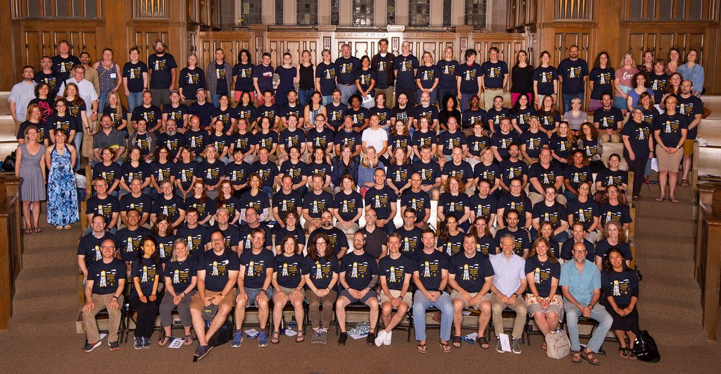 Class of 1994 group photo at Reunion 2019