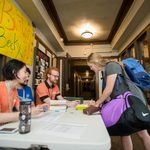 Move-in day, Fall 2016