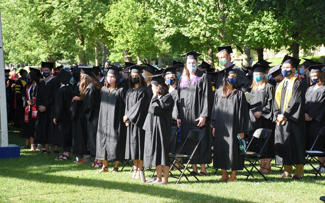 Arrival of graduates