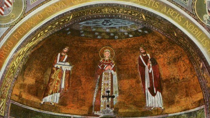 Apse of S Agnese [Saint Agnes] (Rome)