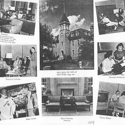Willis Hall photos from 1954
