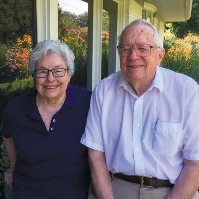 Yvonne Connolly Martin '58 and Bill Martin
