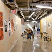 Weitz Center hallway art