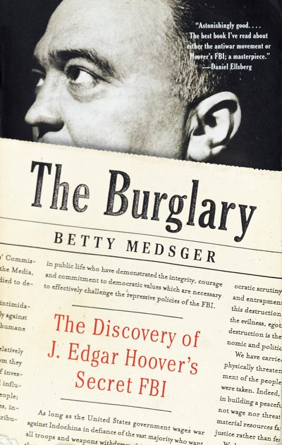 "book cover: ""The Burglary,"" by Betty Medsger"