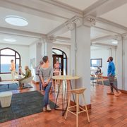 First Floor Lobby Hasenstab Hall