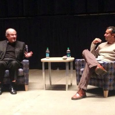 Salman Rushdie in conversation with Arnab Chakladar