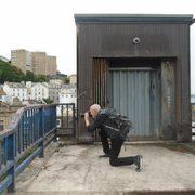 John Schott on location in Devon, UK