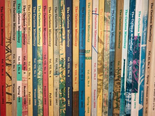 back issues of the miscellany