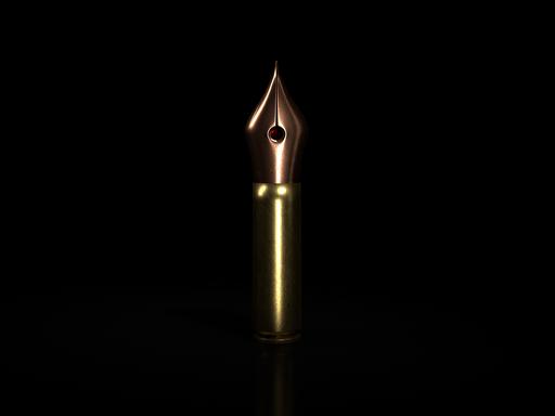 Image of a fountain pen