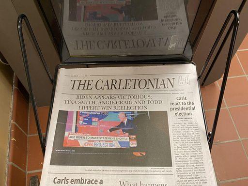 The Carletonian announces Biden's Victory